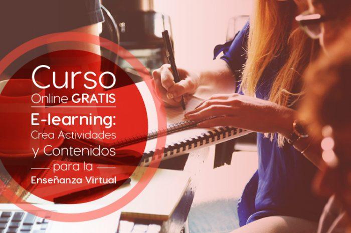 """Curso Gratis Online """"e-Learning: crea actividades y contenidos para la enseñanza virtual"""" Universidad Galileo Guatemala"""